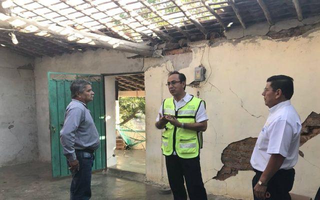Cuadrillas censan viviendas afectadas por sismo en Oaxaca - Foto de @a_saldana_f