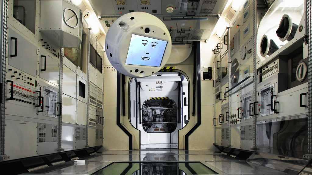 El primer robot con inteligencia artificial en viajar al espacio - Foto de Airbus