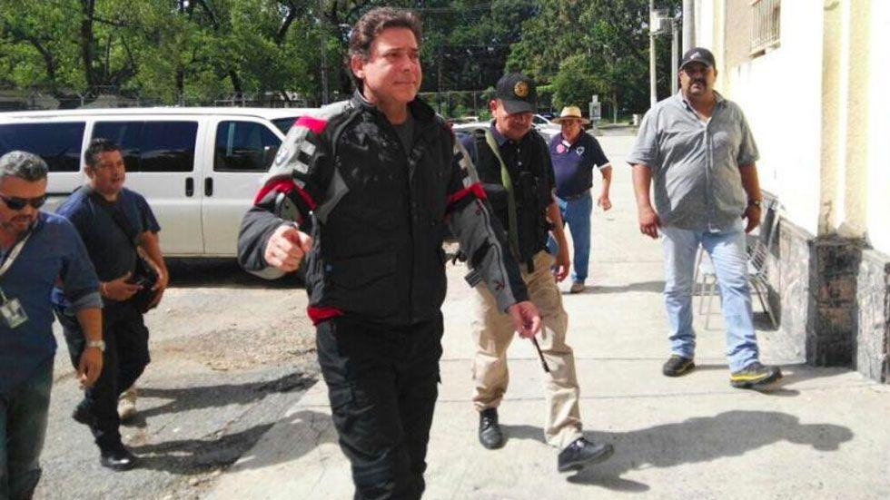 Exgobernador Eugenio Hernández se ampara contra extradición - Foto de Twitter