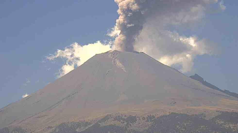 Volcanes mexicanos sin alteraciones tras erupción de Guatemala: UNAM - Foto de @webcamsdemexico