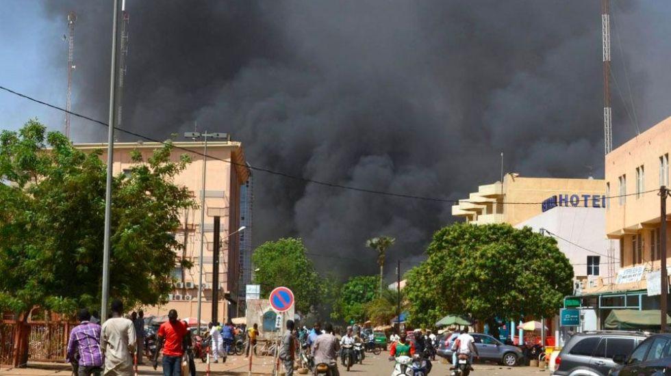 Extremistas islámicos atacan embajada de Francia en Burkina Faso - Foto de AFP