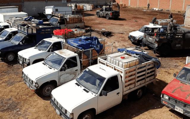 Confiscaron 21 mil 757 vehículos utilizados para 'huachicoleo' en 2018 - Foto de Cuartoscuro