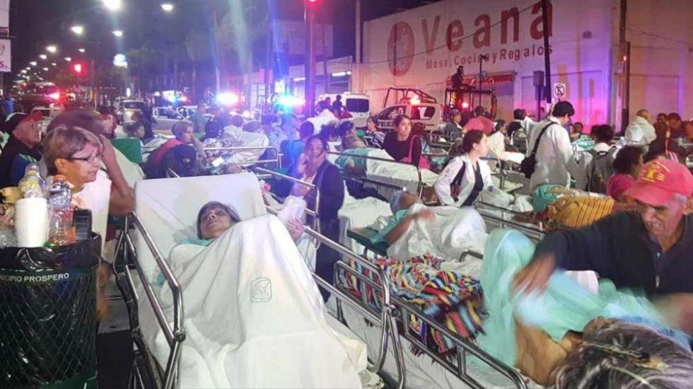 Evacuan hospital del IMSS en Veracruz por incendio - Foto: olivanoticias.com