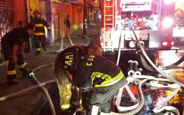 Sofocan incendio en bodega de la colonia Centro - Foto de Milenio