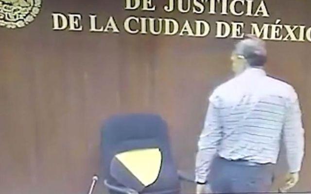 En proceso, destitución de juez acusado de abuso sexual - Captura de Pantalla