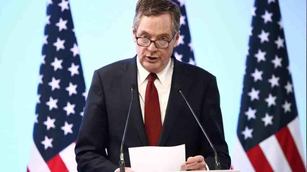"""""""Países del TLC no están cerca de alcanzar un acuerdo"""": Lighthizer - Foto de Reuters"""