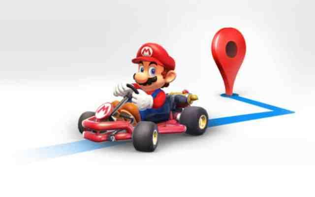 Mario Bros te acompañará en los viajes por medio Google Maps - Foto: Google.