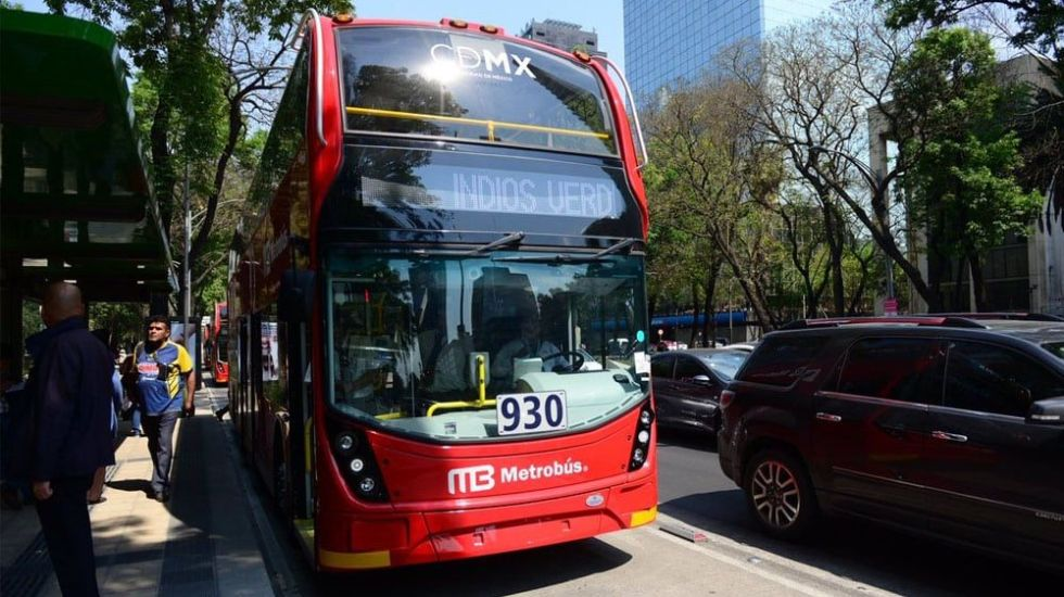Metrobús ofrece servicio gratuito por elecciones - Foto de @pasotti_