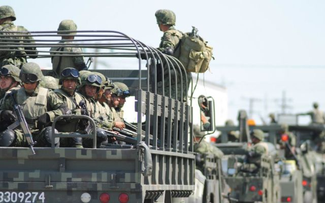 """""""Nosotros no pedimos una Ley de Seguridad Interior"""": Sedena - Foto: Internet."""