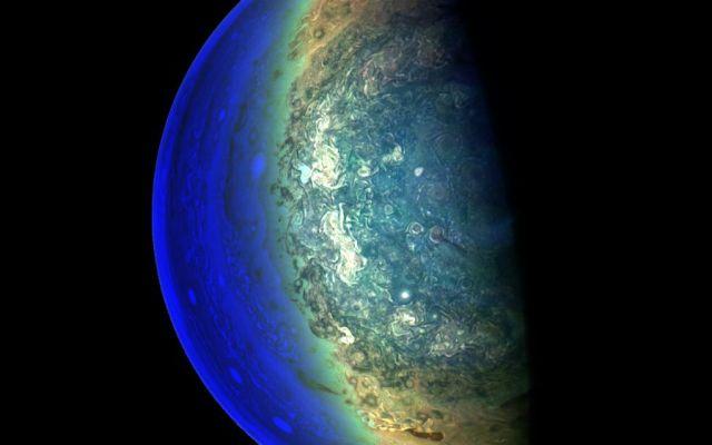 Capta NASA zona crepuscular de Júpiter - Foto: NASA.