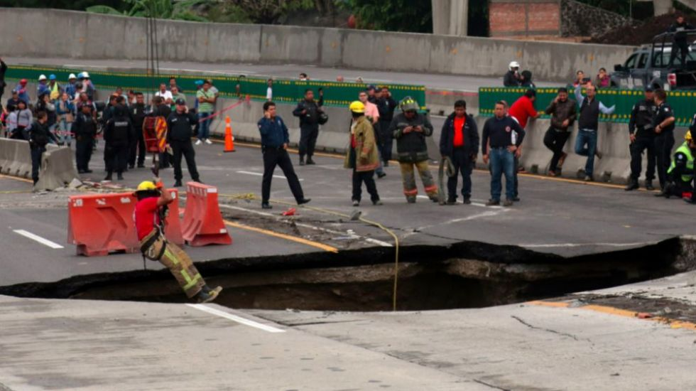 SCT es el principal responsable de irregularidades del Paso Exprés: CNDH - Foto de El Financiero