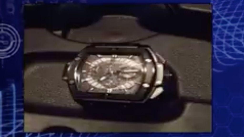 Detienen a hombre que robó reloj valuado en 45 mil dólares