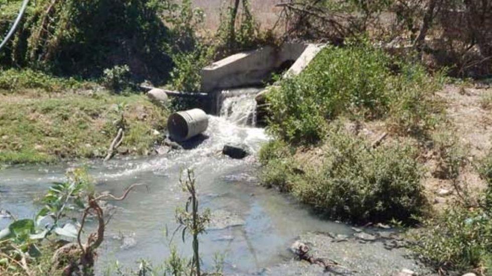 Minera derrama por error 200 litros de cianuro en río de Durango - Foto de internet