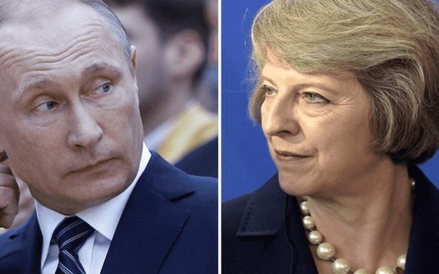 """""""Espectáculo circense acusaciones de Theresa May"""": Rusia"""