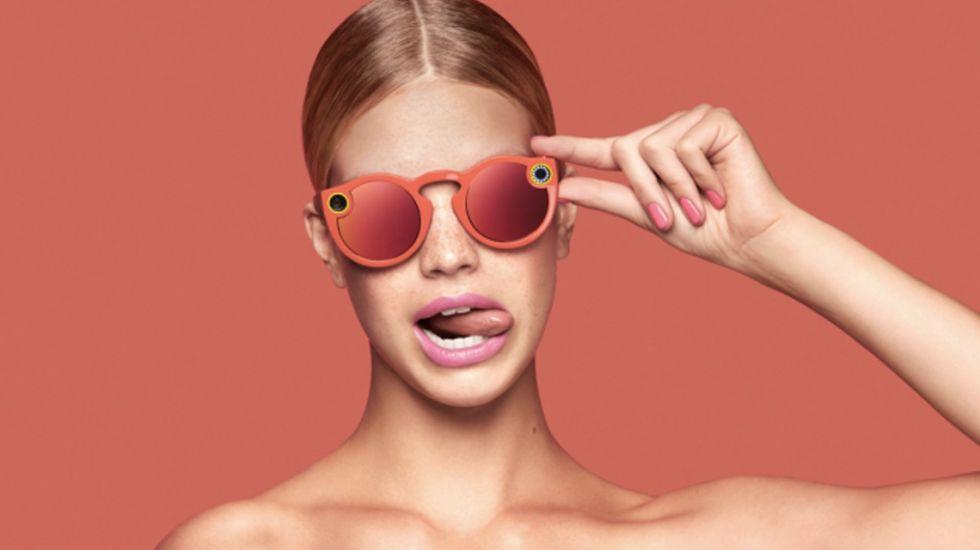 Snapchat volverá a lanzar lentes con cámaras - Foto de Snapchat