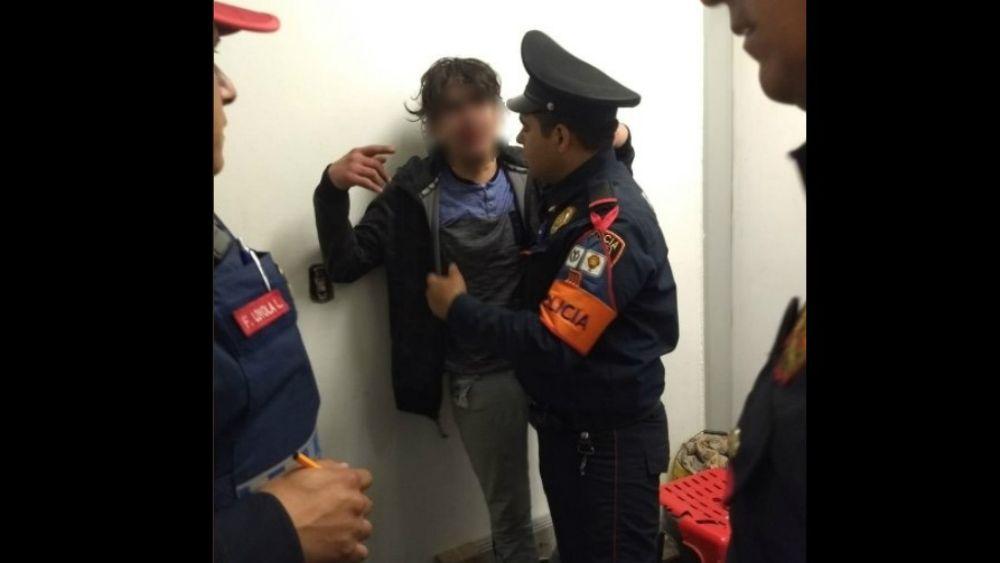 Policías de SSP evitan suicidio en Metro La Viga - Foto: @SSP_CDMX.