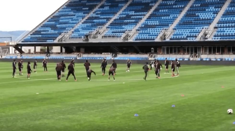 Tri llega al Avaya Stadium previo al partido vs Islandia