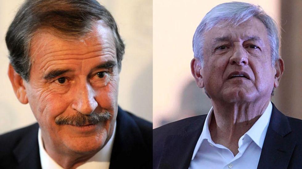 """Vicente Fox tuitea contra AMLO y sus """"ideas mágicas"""" - fox le dice a lopez obrador"""