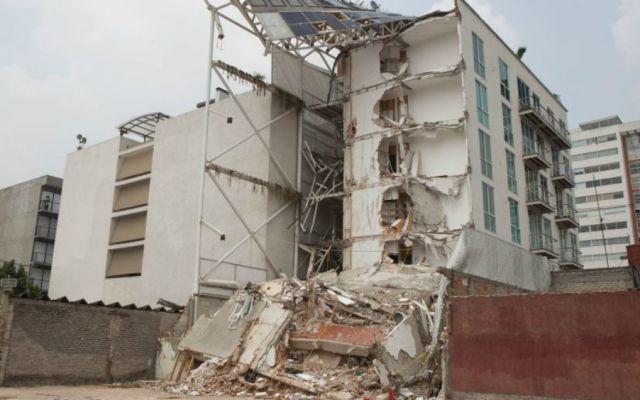 Solo un detenido por derrumbe de edificios en sismo del 19-S - Foto: Cuartoscuro.