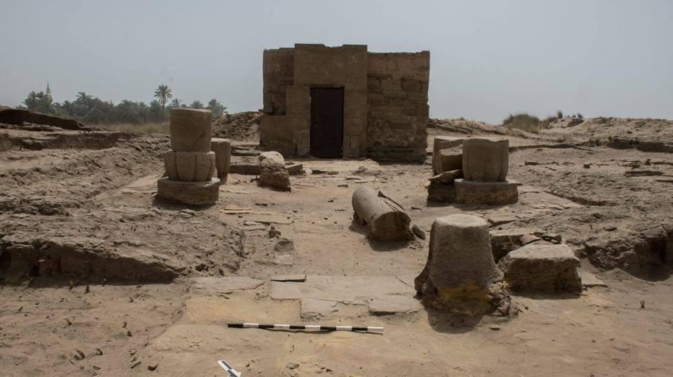Descubren templo dedicado a Osiris en Egipto - Foto de Ministerio de Antigüedades