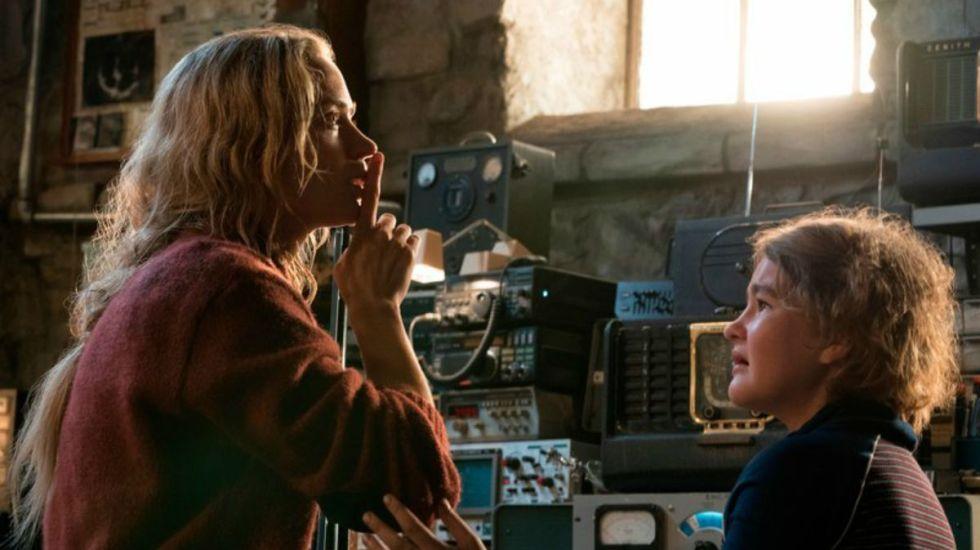 A Quiet Place supera a Rampage en taquilla - Foto de Jonny Cournoyer/Paramount Pictures vía AP