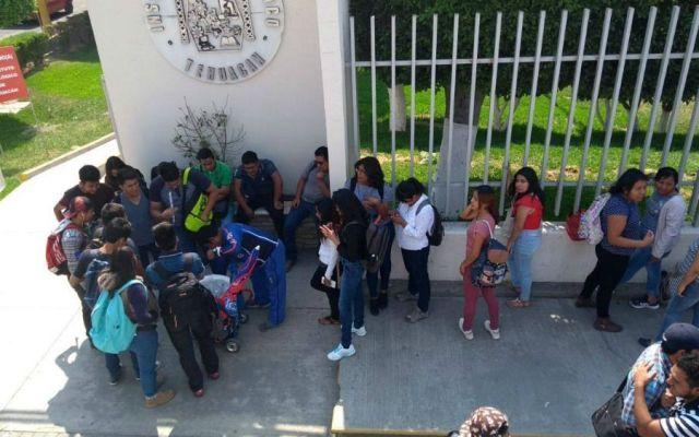 Amenaza de bomba en dos institutos educativos en Puebla - Foto: @SSP_Puebla.
