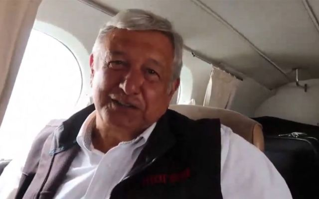 """""""No por pagar taxi aéreo se acabó la austeridad"""": vocero de AMLO - Captura de pantalla"""