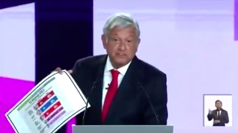 Así se defendió López Obrador de 'El Bronco' - Captura de Pantalla