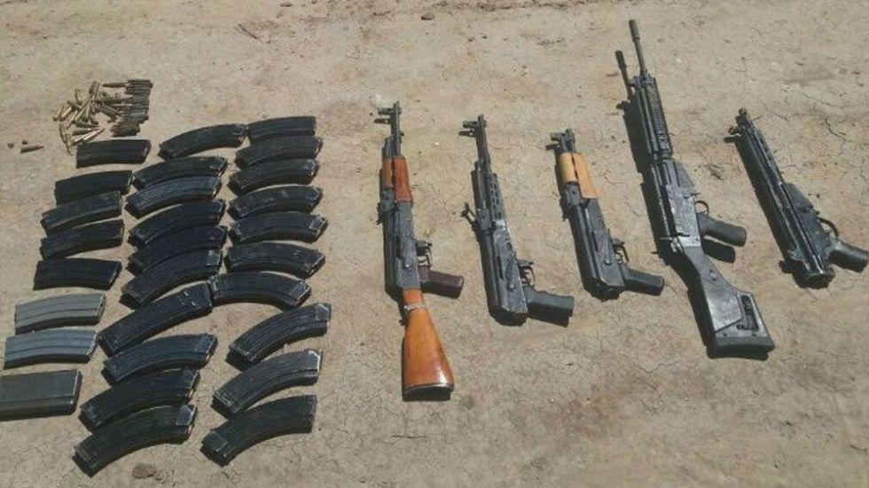 Aseguran armas y vehículos blindados en Tamaulipas - Foto de El Debate