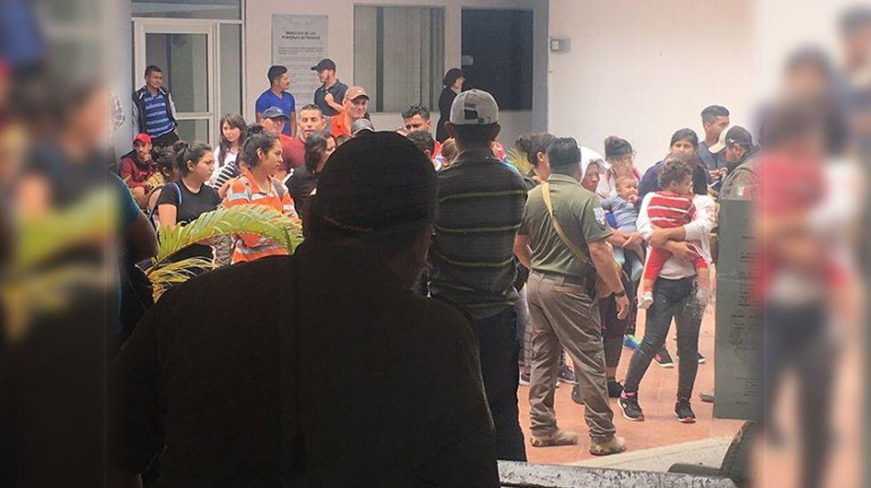 Aseguran a 61 migrantes centroamericanos en Tamaulipas - Foto de Excélsior