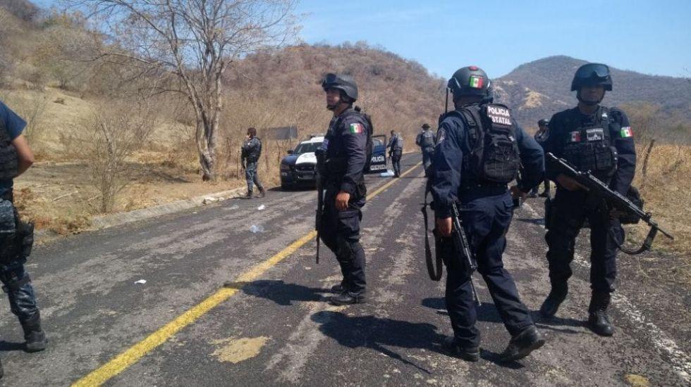 Emboscada contra Gendarmería en Guerrero deja dos heridos - Foto de @ReporTorres