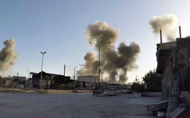 Rusia y Siria aseguran que ataque químico en Douma fue un montaje - Foto de AP
