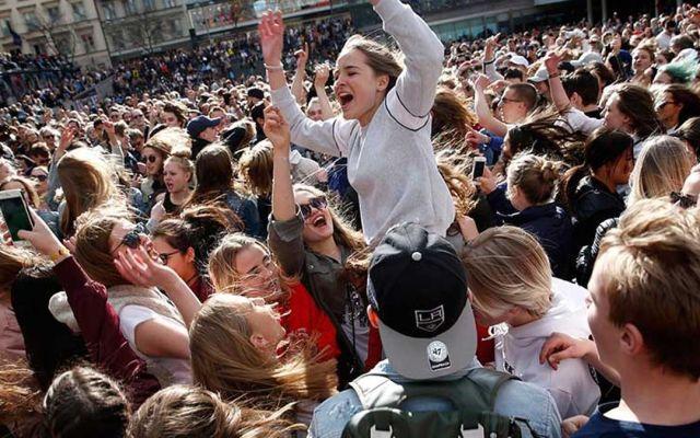 Miles despiden a Avicii en Estocolmo - Foto de Internet