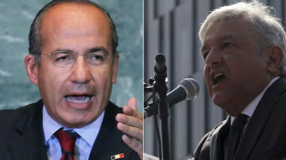 Calderón reta a López Obrador a debatir sobre patrimonios y energías - Foto de Internet