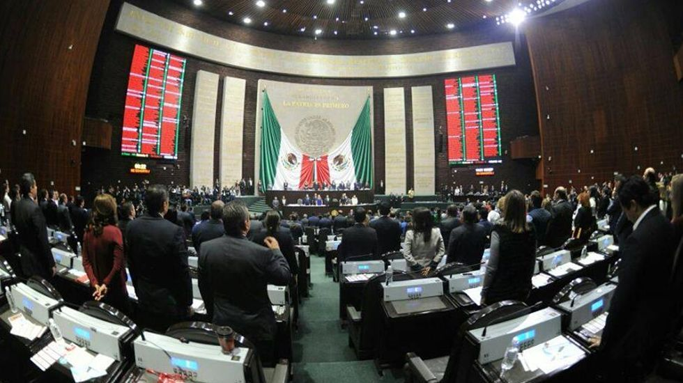 El pleno de la Cámara de Diputados avala eliminar el fuero constitucional - Foto de @Mx_Diputados
