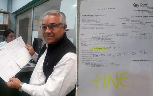Candidato del PRI a Benito Juárez se somete al antidoping - Foto de Internet