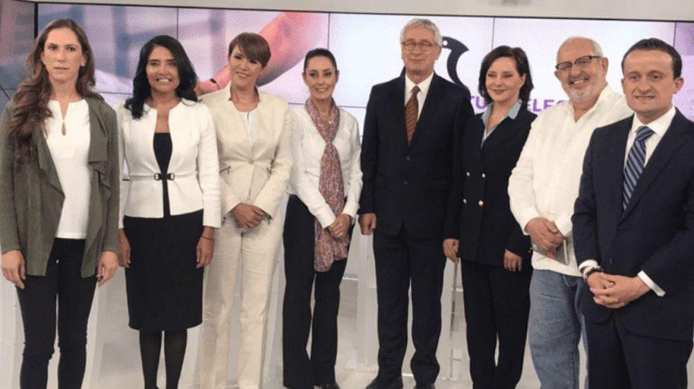 Candidatos a la Ciudad de México piden agilizar los debates - Foto de Internet
