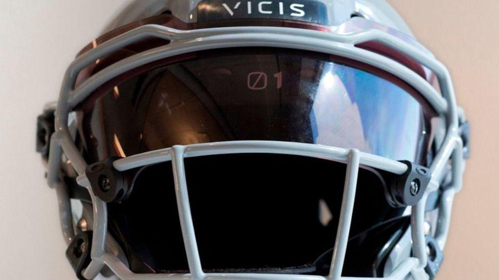 La NFL prohíbe el uso de 10 variedades de cascos - Foto de Internet