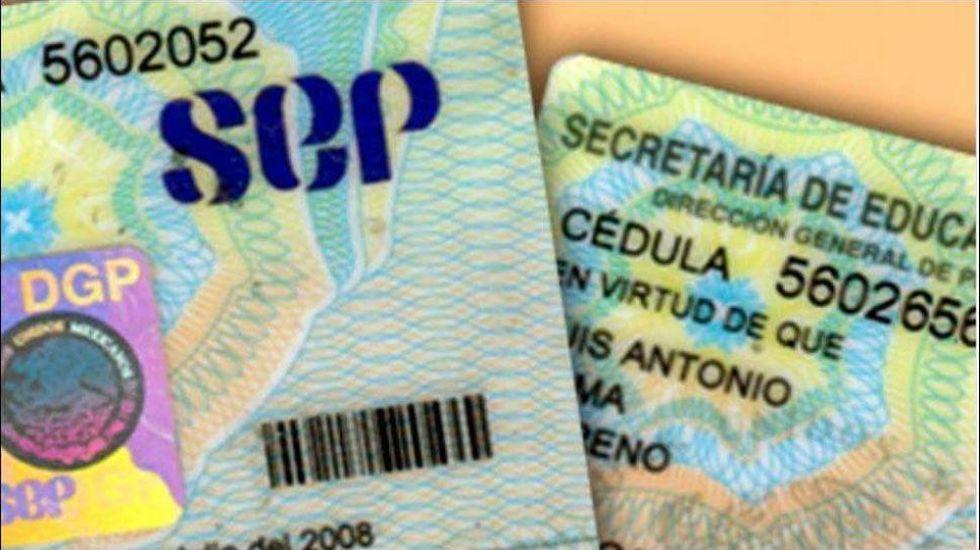 SEP inicia emisión de cédulas profesionales digitales - Foto de internet