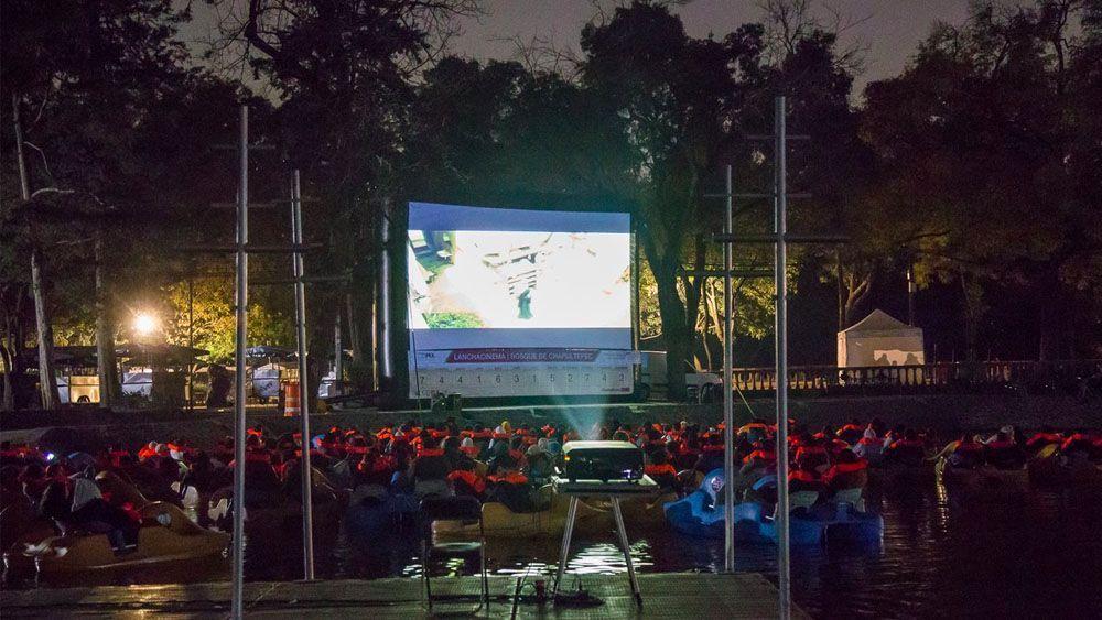 Ofrecen función de cine al aire libre en bosques de la Ciudad de México - Foto de @SEDEMA_CDMX