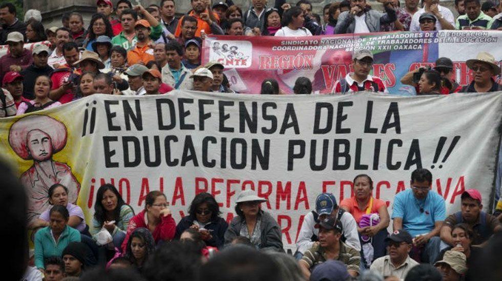 INE confía en que CNTE no impida actividades electorales - Foto de internet
