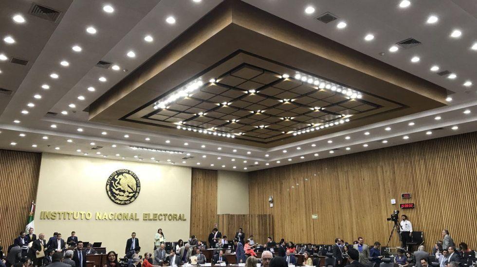 INE condena violencia en campañas electorales - Foto de @INEMexico