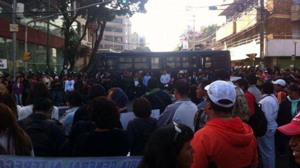 Cuatro movilizaciones afectarán la Ciudad de México - Foto de Internet