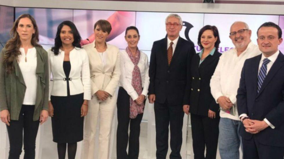 Esta noche será el segundo debate de candidatos a jefe de Gobierno - Foto: @MikelArriolaP.