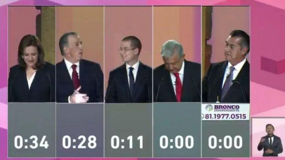 López Obrador ganó el primer debate presidencial: sondeo
