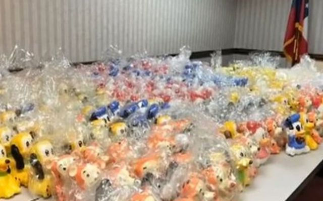 Aseguran 500 muñecos de Disney con metanfetaminas en Atlanta - Foto de Internet
