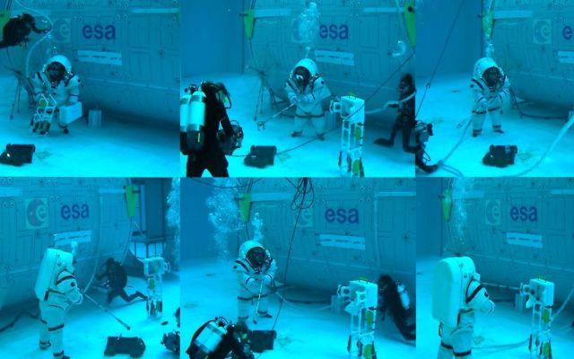 #Video Así entrenan los astronautas para caminar en la Luna - Foto de ESA