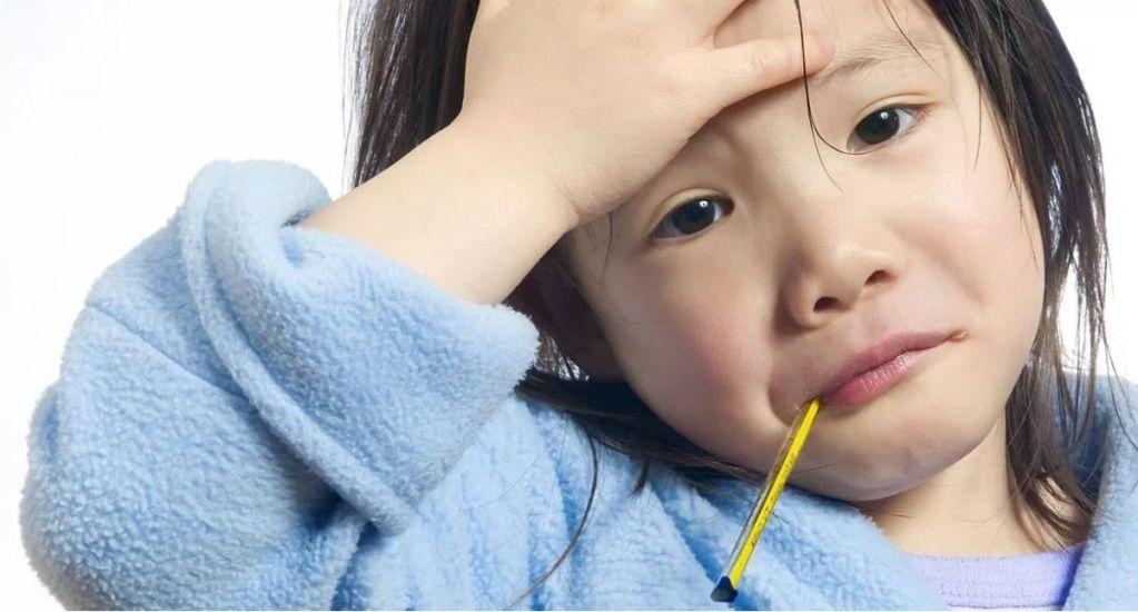 ¿Qué hacer cuando un niño tiene fiebre? - Foto de internet