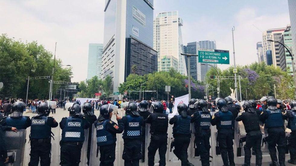 Prevén cuatro movilizaciones en la Ciudad de México - Foto de Tania Villanueva