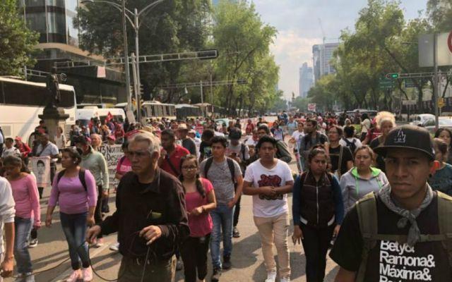 Marchan en CDMX a 43 meses del Caso Iguala - Foto de Noticieros Televisa